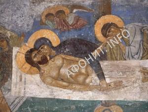 Страсти Христовы Положение во Гроб