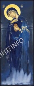 Светописанный образ или Фотография Пресвятой Богородицы в Русском на Афоне Свято-Пантелеимоновом монастыре