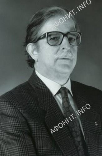 Профессор Антоний-Эмиль Николаевич Тахиаос, почетный председатель Международного института афонского наследия (МИАН)