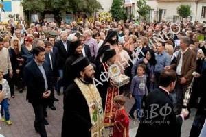 В Трикала поклонились афонским святыням из монастыря «Симонопетра»