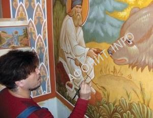Иконописец Николай Шушалыков