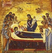 Икона Успения Пресвятой Богородицы. XII век.  Из собрания монастыря святой Екатерины на Синае