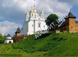 Успенский собор Зиимненского Святогоорского Успенского монастыря на Волыни, современный вид
