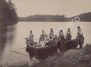 Валаамские монахи 1887 г.