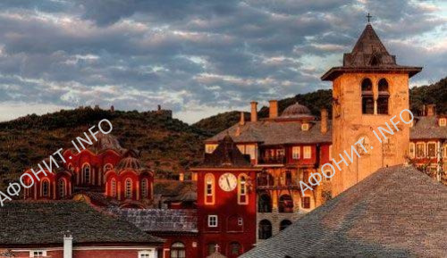 Монастырь Ватопед. Святая гора Афон