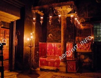 Гробница преподобного Афанасия Афонского