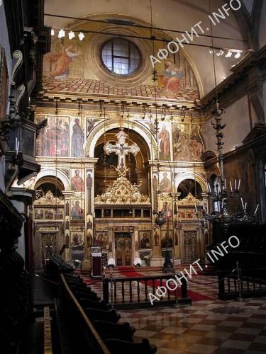 Православный греческий собор св. Георгия (Chiesa di San Giorgio dei Greci) в Венеции