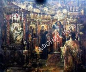 выставка картин «На святом Афоне» в Национальном художественном музее Беларуси