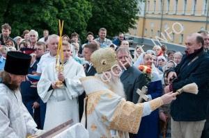 Тысячи верующих Владимира и Мурома поклонились святыням с Афона