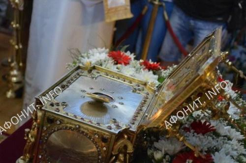 Мощи св. влмч. Пантелеимона принесены в древний болгарский город Враца