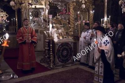 Патриарх Кирилл почтил память Собора всех Преподобных Русских Святогорцев