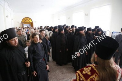 Праздник в Свято-Успенской Лавре