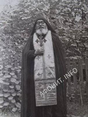 Афонский иеросхимонах Лука (о. Мелетий Рущак)