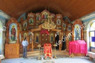 Пантелеимоновский монастырь в Хуст-Колесарово, фото Сергея Шумило, октябрь 2015 г.