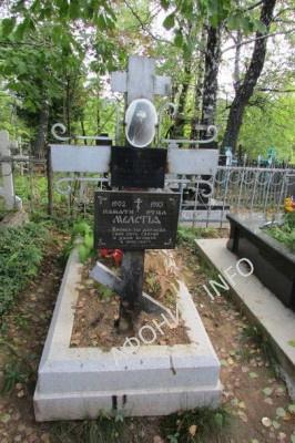 Могила афонского иеросхимонаха Луки (о. Мелетия Рущак), фото Сергея Шумило, октябрь 2015 г.