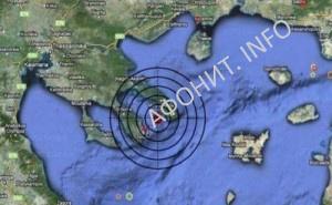 землетрясение на Святой Горе Афон