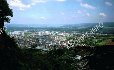городок Зинген округа Констанц