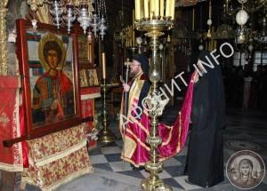 Панигир в Зографском монастыре на Афоне