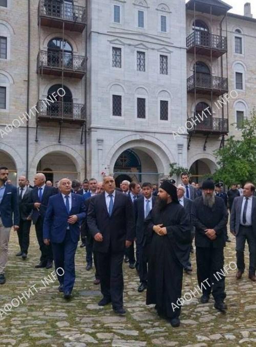 В Панигире в Зографском монастыре на Афоне принял участие премьер-министр Болгарии Бойко Борисов
