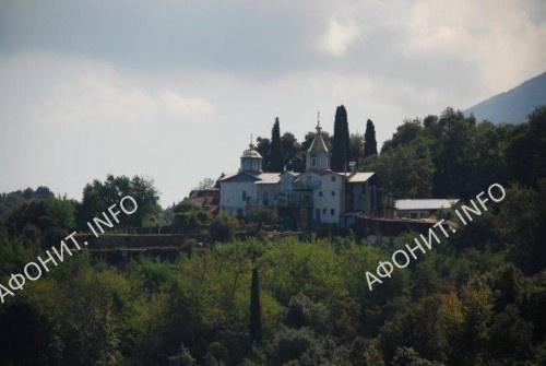 Келлия и храм Честнаго Креста о. Давида
