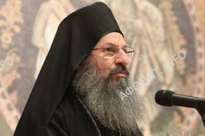 Архимандрит Елисей, игумен монастыря Симонопетра (Святая Гора Афон)
