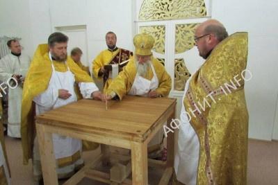 В Белоруссии появился храм в честь преподобного Силуана Афонского