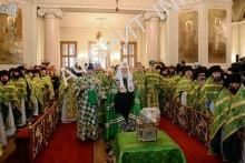 Последний день афонских торжеств в Москве