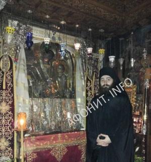 Афонский монастырь Дохиар Икона Божией Матери Скоропослушница