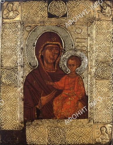 Икона Божией Матери Елеоточивая (Элеовритисса), также именуемая Келарницей