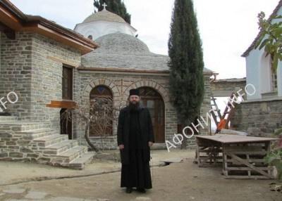 Епископ Климент Ирпенский в древнерусском скиту Ксилургу на Святой Горе Афон