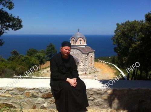 Архиепископ Иона. Святая Гора Афон
