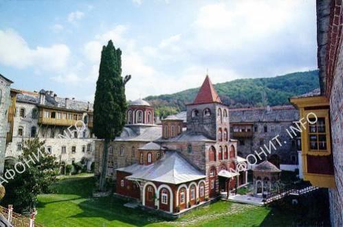 Филофеевский монастырь. Святая гора Афон