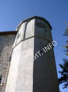 Башня Саввы Сербского в Русике на Афоне