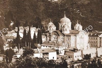 Соборный храм святого пророка Илии. Таким его видел отец Товия. Фото 1914 года