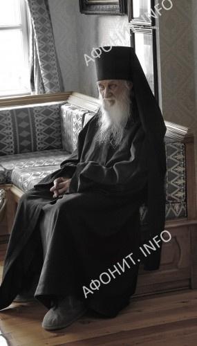 Игумен Афонского Пантелеимонова монастыря схиархимандрит Иеремия (Алехин)