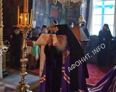 Игумен Русского на Афоне Свято-Пантелеимонова монастыря схиархимандрит Иеремия (Алехин)