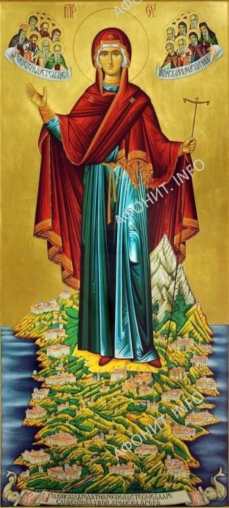 Икона Божией Матери Игуменья святой горы Афон