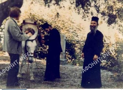 Отец Иосиф в новом Скиту через несколько лет после кончины Иосифа Исихаста