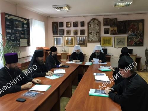 Заседание комиссии по канонизации УПЦ