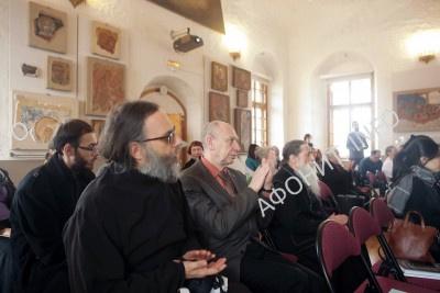 Духовные связи России, Грузии и Афона обсудили в московском музее им. Андрея Рублева