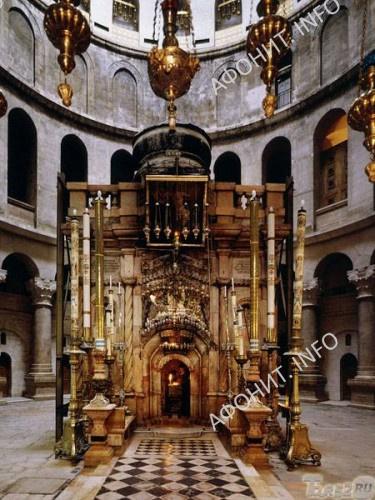 Кувуклия, гроб Господень