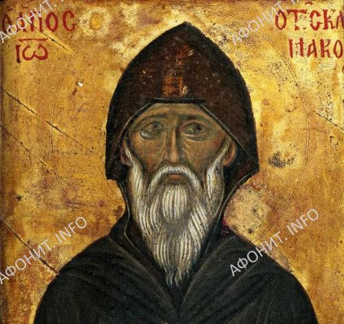 Преподобный Иоанн Лествичник. Монастырь св. Екатерины на Синае, конец XIV — начало XV в.