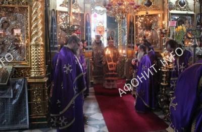 Митрополит Иларион (Алфеев) посетил Святую Гору Афон