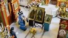 В Киево-Печерской Лавре освятили иконы для принесения на Святую Гору Афон