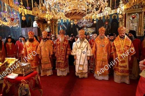 Митрополит Александр на Святой Горе Афон