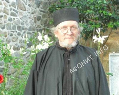Соборный старец Пантелеимонова монастыря на Афоне о. Лазарь (Петушков)
