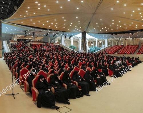Монашеский съезд РПЦ в Храме Христа Спасителя