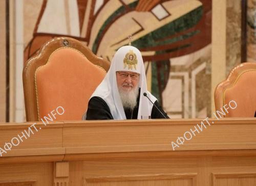 Монашеский съезд РПЦ проходит в Храме Христа Спасителя