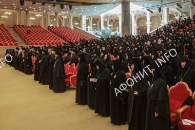 Монашеский съезд РПЦ завершил свою работу