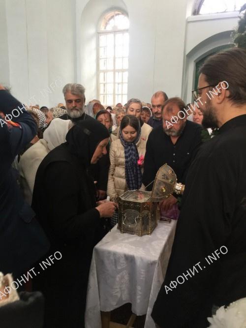 Торжества в честь преподобного Силуана